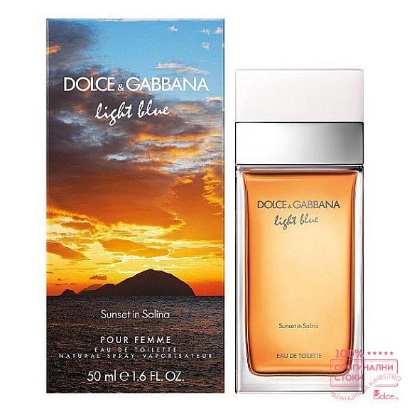 Dolce & Gabbana Light Blue Sunset in Salina EDT - тоалетна вода за жени
