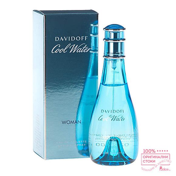 Davidoff Cool Water EDT - тоалетна вода за жени