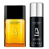 Azzaro Pour Homme EDT - подаръчен комплект за мъже