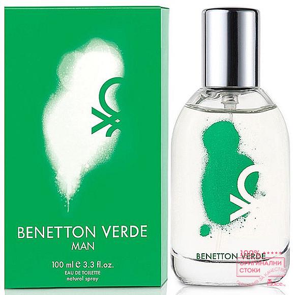Benetton Verde Man EDT - тоалетна вода за мъже