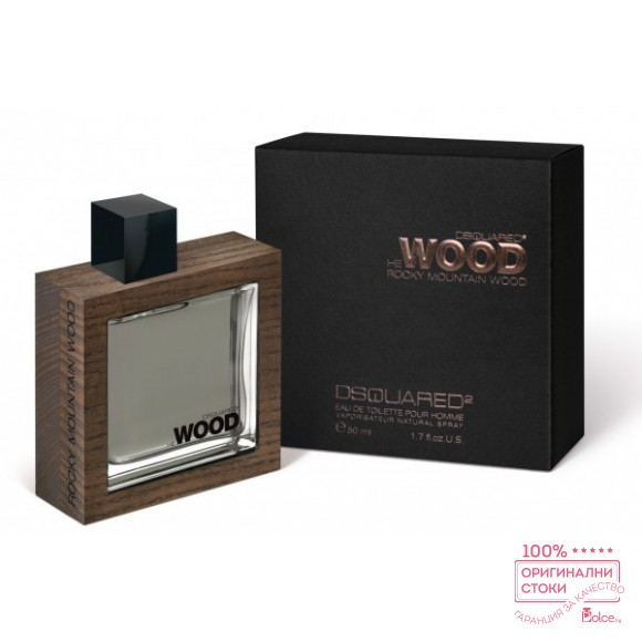 Dsquared He Wood Rocky Mоuntain EDT - тоалетна вода за мъже