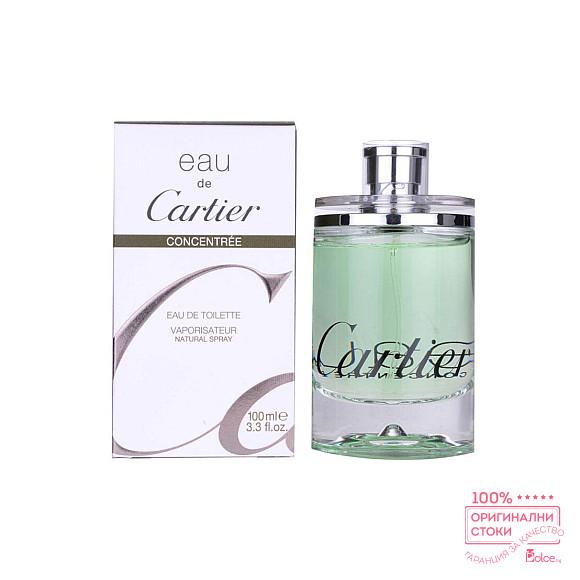 Cartier Eau de Cartier Concentree EDT - унисекс тоалетна вода