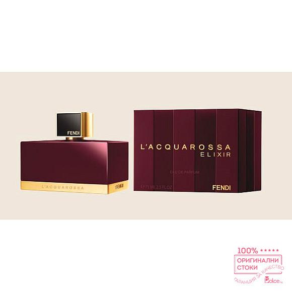Fendi L'Acquarossa Elixir EDP - дамски парфюм