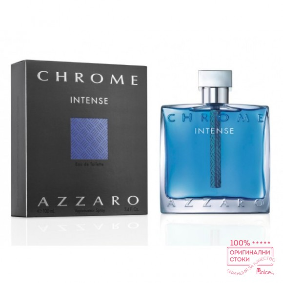 Azzaro Chrome Intense EDT - тоалетна вода за мъже