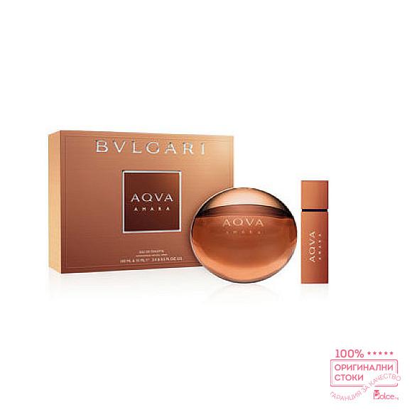 Bvlgari Aqva Amara EDT - Подаръчен комплект за мъже