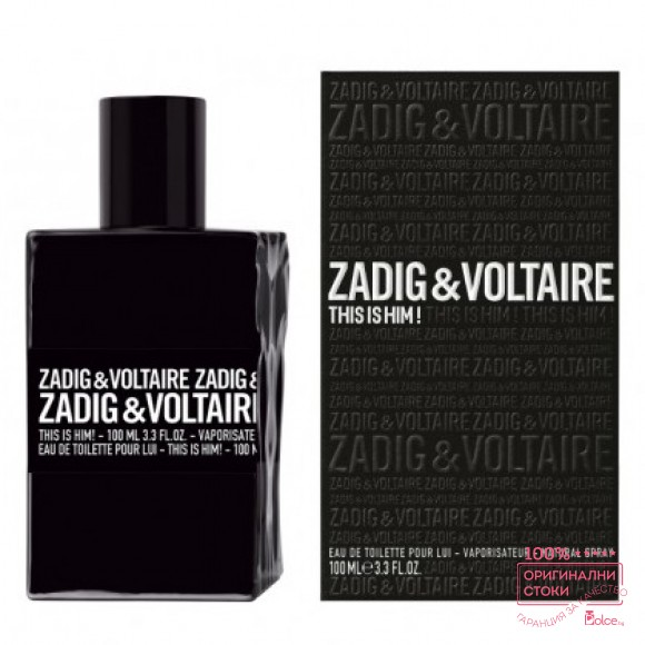 Zadig & Voltaire This is Him парфюм за мъже EDT