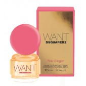dsqaured want pink ginger edp - дамски парфюм
