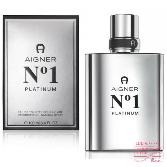 Aigner No 1 Platinum EDT - тоалетна вода за мъже