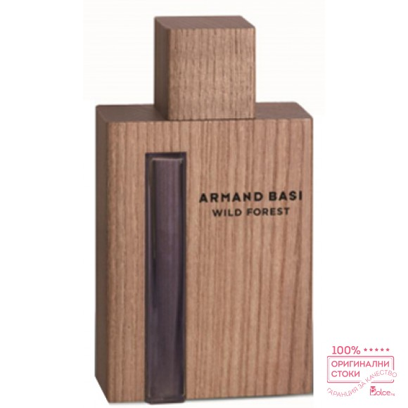 Armand Basi Wild Forest EDT - тоалетна вода за мъже без опаковка