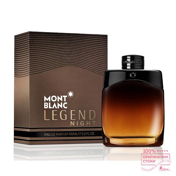 Mont Blanc Legend Night EDP - мъжки парфюм