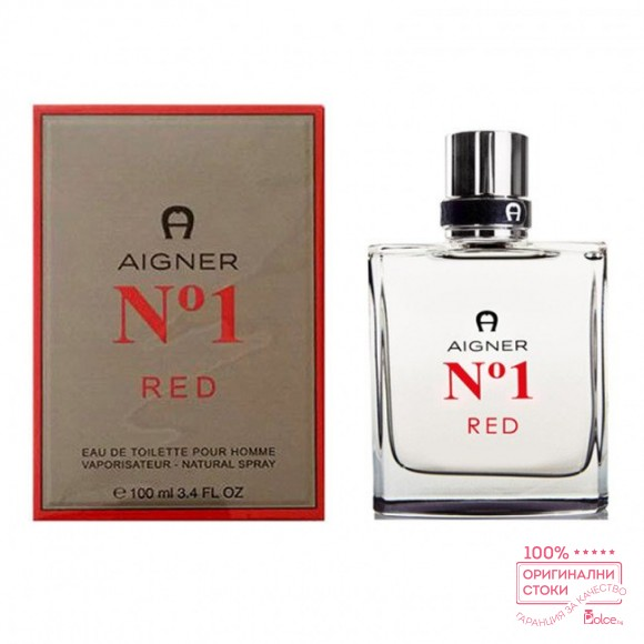 Aigner No 1 Red EDT - тоалетна вода за мъже