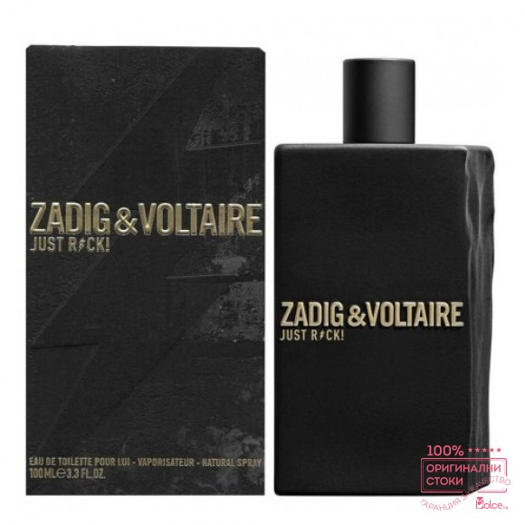 Zadig & Voltaire Just Rock! EDT - тоалетна вода за мъже