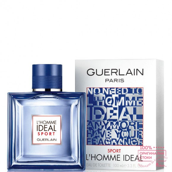 Guerlain L`homme Ideal Sport EDT - тоалетна вода за мъже