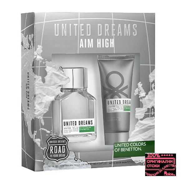 Benetton United Dreams Aim High Подаръчен комплект за мъже
