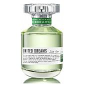 Benetton United Dreams Live Free EDT - тоалетна вода за жени без опаковка