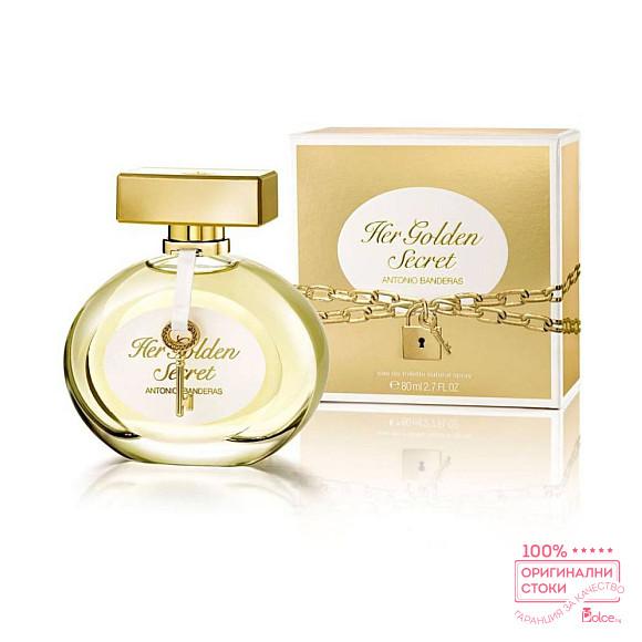 Antonio Banderas Her Golden Secret EDT - тоалетна вода за жени