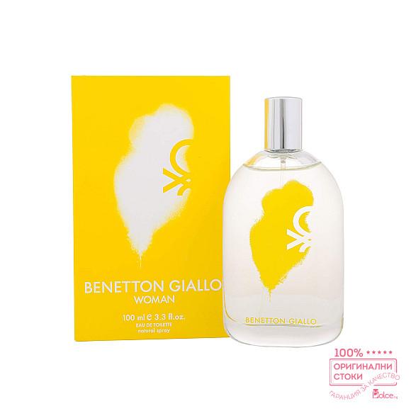 Benetton Giallo Woman EDT - тоалетна вода за жени