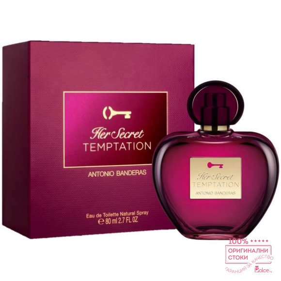 Antonio Banderas Her Secret Temptation EDT - тоалетна вода за жени