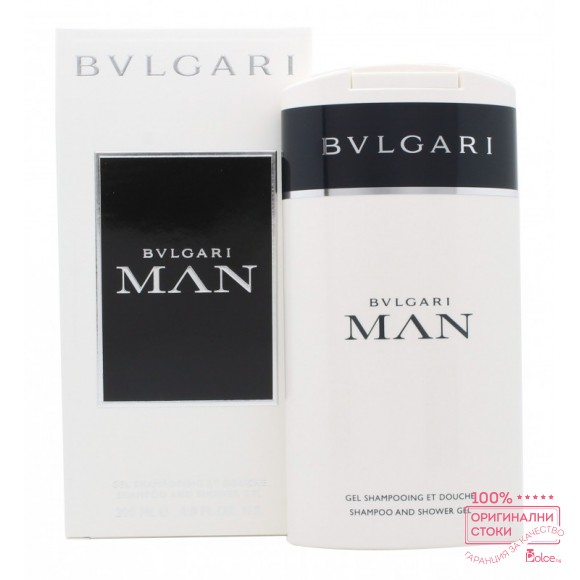 Bvlgari Man Душ гел за мъже