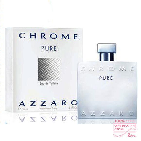 Azzaro Chrome Pure EDT - тоалетна вода за мъже