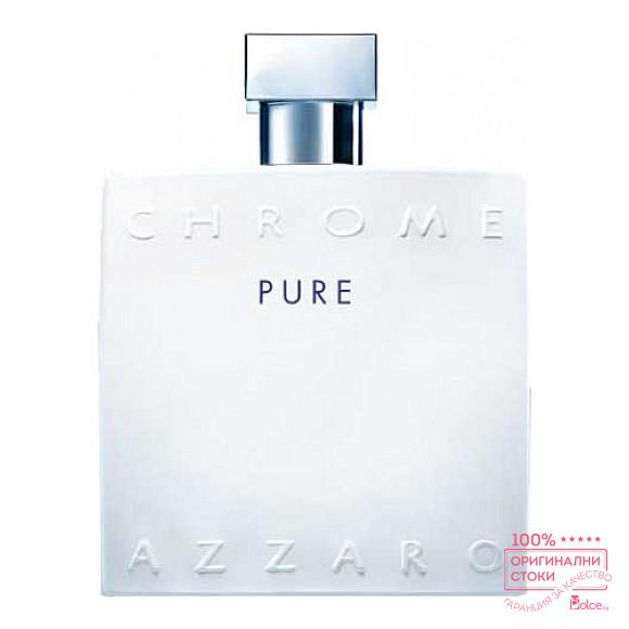 Azzaro Chrome Pure EDT - тоалетна вода за мъже без опаковка